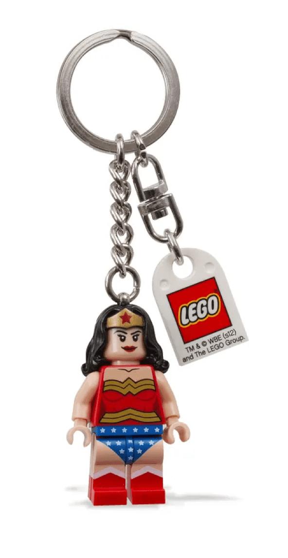 Woman Superhero Wonder Bow Purse Charm Keychain