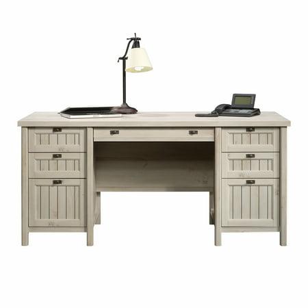 Sauder Costa Executive Desk, Chalked Chestnut Finish ()