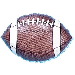 18 Inch Football Silverline Balloon](Football Balloons)
