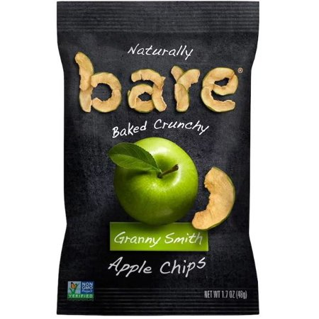 Bare Snacks, Naturally Baked Crunchy, Apple Chips, Granny Smith, 1.7 oz (48 g) ()