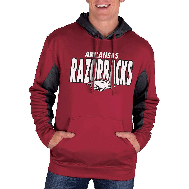 NCAA Arkansas Razorbacks Men's Classic-Fit Pullover Impact Hood