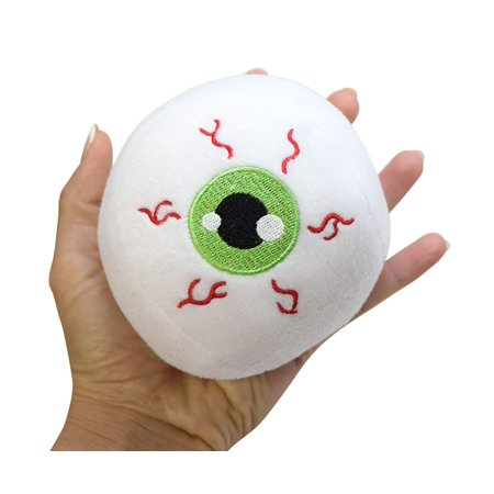 1 Eyeball Plush Stuffed Toy Eye Animal Toys for Ophthalmologists Optometrists Doctors Bulk Small Novelty Toy Prize Assortment Halloween Party Gifts (Set of 12, 1 - Animated Eyeball