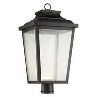 The Great Outdoors Irvington Manor 72177-189-L 1 Light Outdoor Post Lantern