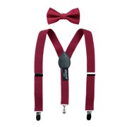 Spring Notion Boys' Suspenders and Polka Dot Bow Tie Set