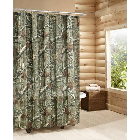 . Mossy Oak Break Up Infinity Shower Curtain