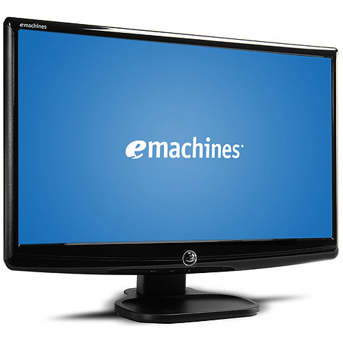 "eMachines Refurbished 18.5"" Widescreen LCD Monitor (E182HDBM Black)"