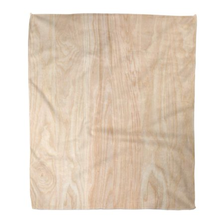 Walnut Lumber Wood Board - ASHLEIGH Throw Blanket Warm Cozy Print Flannel Hardwood Ash Wood Panel Tree Board Lumber Comfortable Soft for Bed Sofa and Couch 58x80 Inches