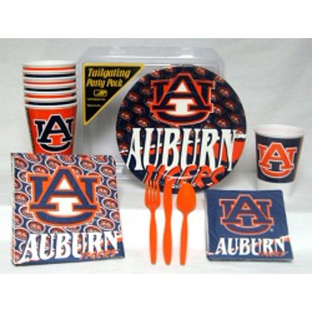 Auburn Tigers Party Supplies Pack #1 (Auburn String Pack)