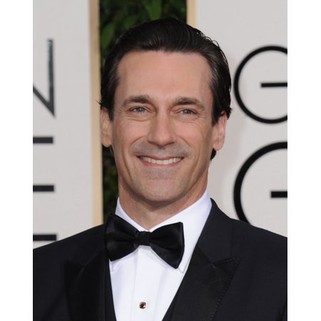 Jon Hamm At Arrivals For 73Rd Annual Golden Globe Awards 2016   Arrivals 3 The Beverly Hilton Hotel Beverly Hills Ca January 10 2016 Photo By Dee Cerconeeverett Collection Photo Print