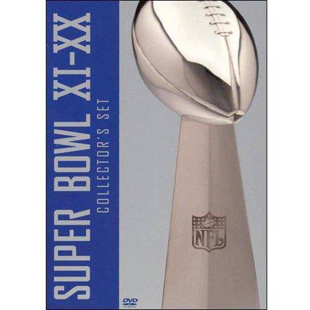 Nfl Films  Super Bowl   Xi   Xx  Collectors Set   Full Frame