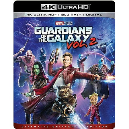 Guardians of the Galaxy: Vol. 2 (4K Ultra HD + Blu-ray + Digital (Dave Bautista Guardians Of The Galaxy 2)