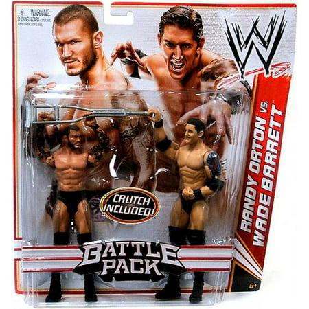 Randy Orton vs. Wade Barrett Action Figure 2-Pack Crutch Series