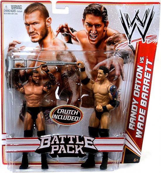 Randy Orton vs. Wade Barrett Action Figure 2-Pack Crutch Series 18