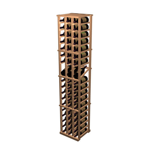 Wine Cellar Innovations Designer Series 57 Bottle 3 Column Individual with Display Wine Rack