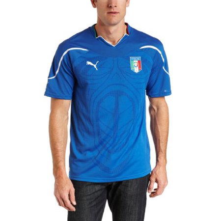 PUMA Italy Home Replica Jersey Shirt (Team Power Blue, Small)