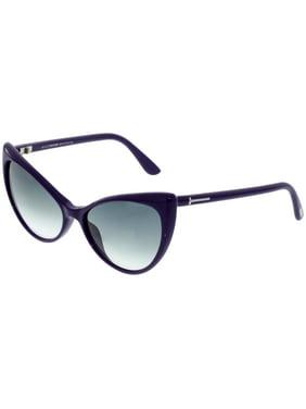 7161b59020 Product Image Tom Ford Women s Gradient Anastasia FT0303-90B-55 Purple Cat  Eye Sunglasses