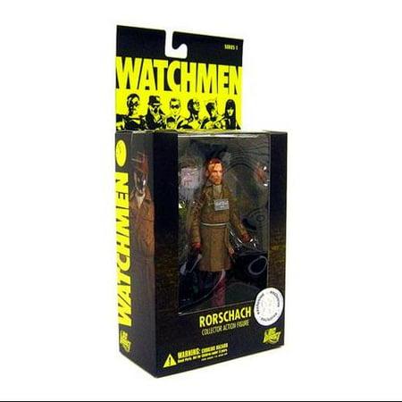 DC Watchmen Watchmen Series 1 Rorschach Exclusive Action Figure [No Mask] (Rorschach Watchmen)