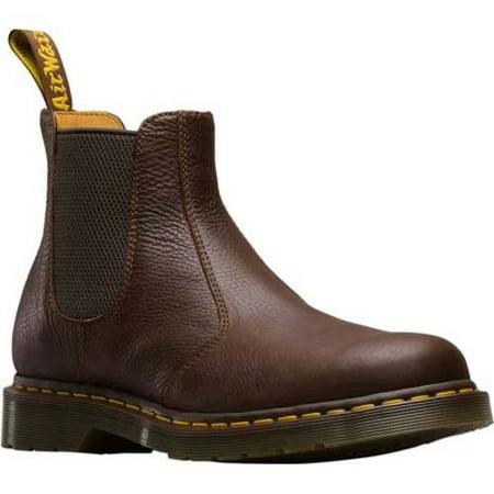 15ef030441 dr-martens - dr martens mens 2976 chelsea dealer premium carpathian leather  ankle doc boots (11 uk 12 m us