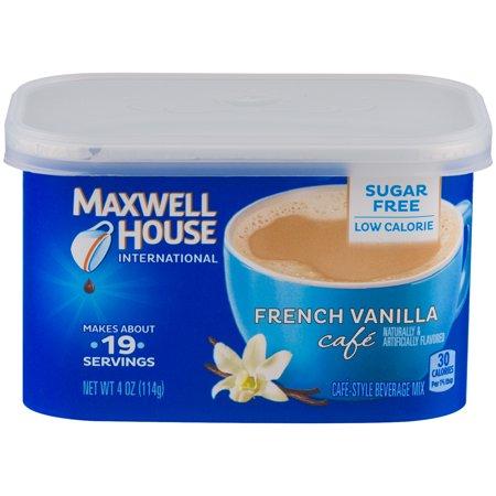Maxwell House International Coffee Cafe Francais