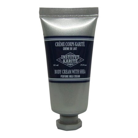 Institut Karite Shea Body Cream lot 4 Each .75oz bottles. Total of (Karite Conditioning Cream)