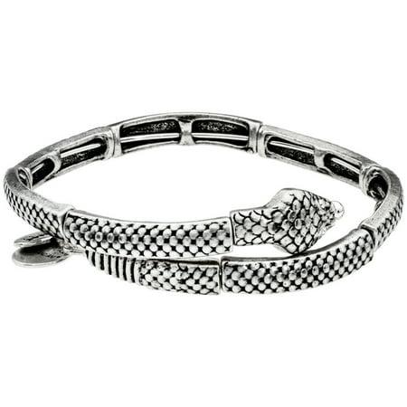 Alex And Ani Snake Wrap Silver One Size Bracelet V16W32RS Copper Wrap Bracelet