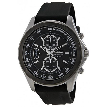 - Chronograph Black Dial Mens Watch SSB053