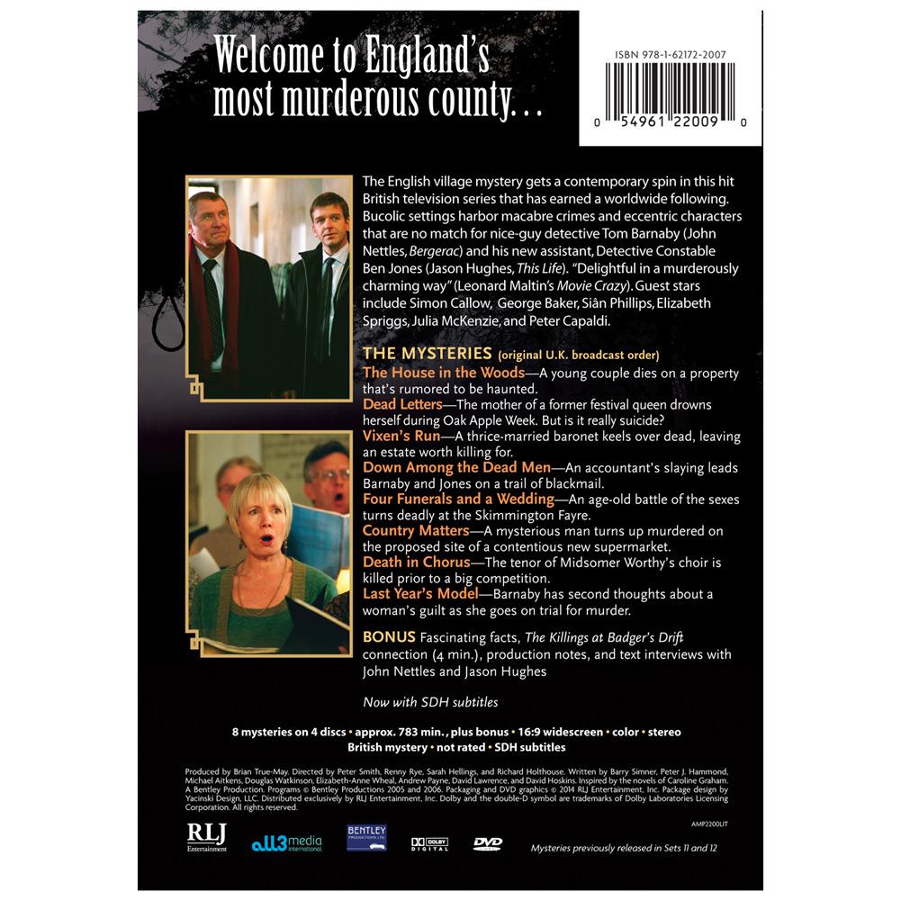 midsomer murders: series 9 (dvd) - walmart