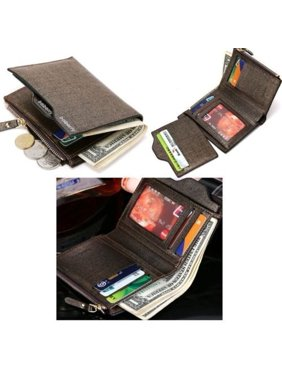Men Wallet Coin Purse credit Card holders Clutch Bifold Pocket Billfold Wallet