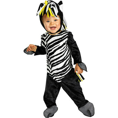 Zany Zebra Infant Halloween Costume