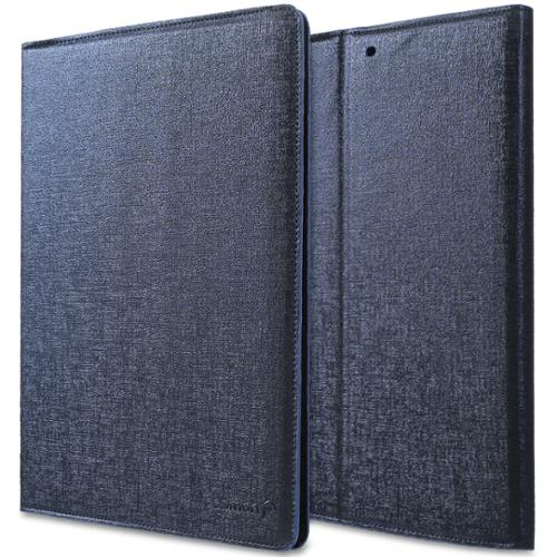 Fosmon OPUS-MAZE Leather Folio Stand Case Cover for Apple iPad Air (w/ Sleep/Wake Function) - Blue