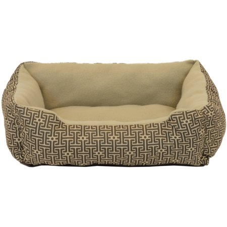 Vibrant Life Rectangle Cuddler Pet Bed Small Color May