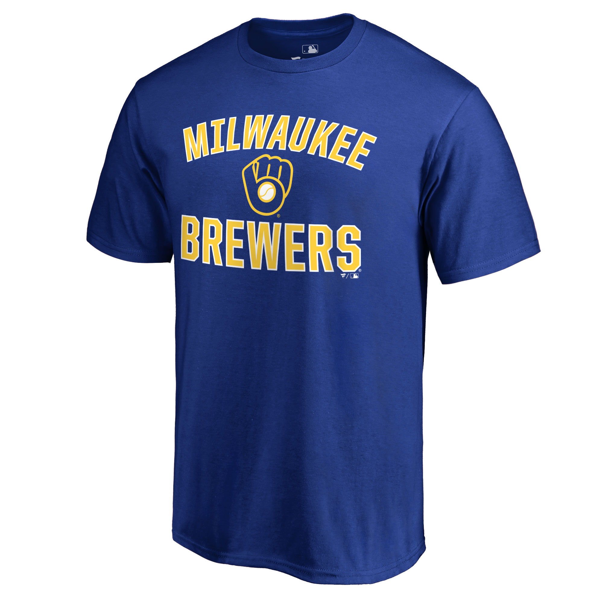 Milwaukee Brewers Victory Arch T-Shirt - Royal