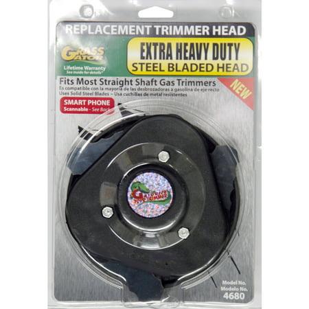 Grass Gator 4680-6 Brush Cutter Head With Metal (Straight Shaft Brush Cutter)