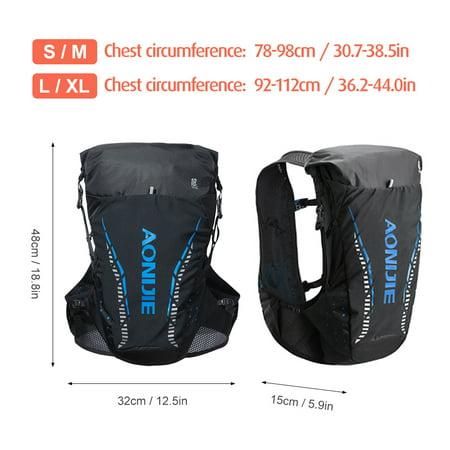 Super Lightweight Hydration Backpack Running Water Bladder Vest Climbing Marathon Cycling Hydration Bag - image 4 of 7