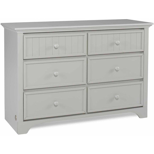 Fisher Price Lakeland 6-Drawer Double Dresser, Choose Your Finish by Bivona & Company