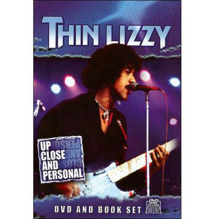 Up Close And Personal: Thin Lizzy (With Book)