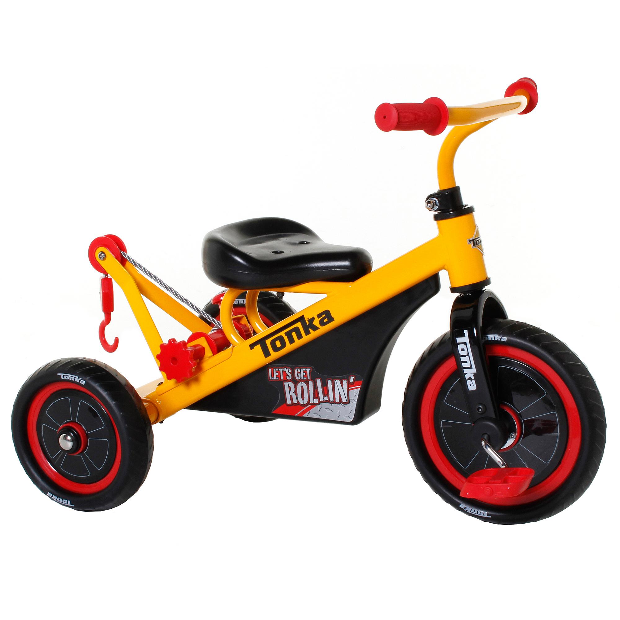 Tonka Boys' Trike, Yellow