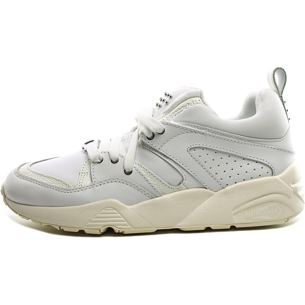 Puma Blaze Of Glory Decor   Round Toe Leather  Sneakers