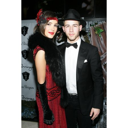 Olivia Culpo Nick Jonas At Arrivals For Nick Jonas Hosts 20000 Halloween Costume Contest At 1 Oak Nightclub The Mirage Hotel & Casino Las Vegas Nv October 31 2014 Photo By James AtoaEverett Collection - Halloween Door Contest Ideas