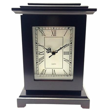 Secret Safe - Concealment Wood Clock Safe Diversion Security Clock Secret Hidden Storage Compartment