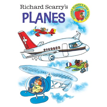 Richard Scarrys Planes (Board Book)