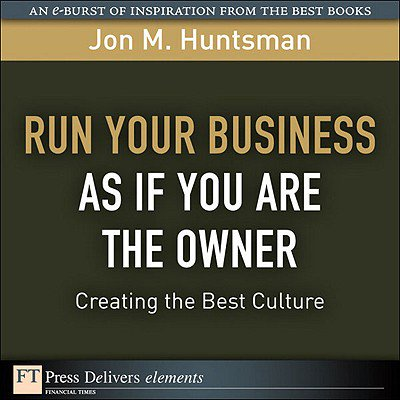 Run Your Business as if You Are the Owner - eBook