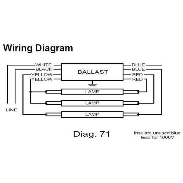 Philips Advance Electronic Ballastt8 Ls120277v Icn4p32n. Philips Advance Electronic Ballastt8 Ls120277v Icn4p32n Walmart. Wiring. 120 277v Ballast Wiring Diagram At Scoala.co