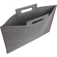 Itoya Portfolio Midtown Bag: Gray, 14 x 21 inches