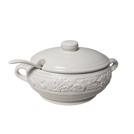 Dolomite Soup Tureen with Ladle 67.6 (Soup Tureens With Ladles)