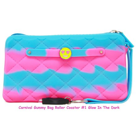 American Jewel Carnival Wristlet Glow in The Dark Roller Coaster for $<!---->
