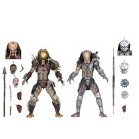 "Predator - 7"" Scale Action Figures - Ultimate Bad Blood vs Enforcer 2-Pack"