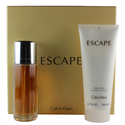 Escape by Calvin Klein Gift Set for Women EDP Perfume Spray 3.4 oz.+6.7 oz. Body Lotion New in Box