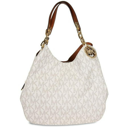 e1c1471838cf Fulton Large Logo Shoulder Bag in Vanilla - 30H4GFTL3B-150 - Walmart.com