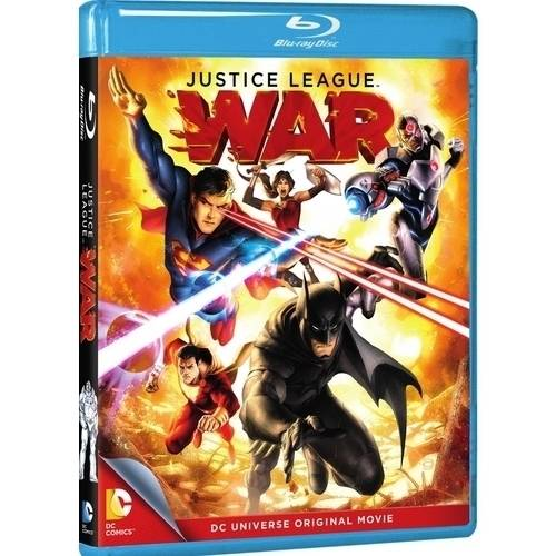 DC Universe: Justice League - War (Blu-ray) (With INSTAWATCH) (Anamorphic Widescreen)